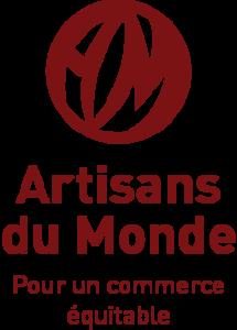 Logo Artisans du Monde. Pour un commerce équitable