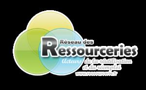 Logo du Réseau des Ressourceries : Acteurs de la réutilisation et du réemploi
