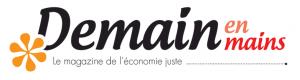 Logo de Demain en mains, Le magazine de l'économie juste