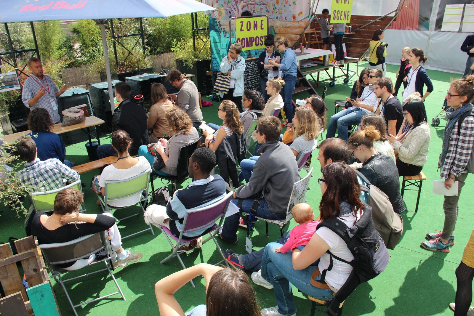 Public d'un rendez-vous de la Fête des Possibles 2017